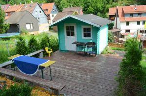 Haus mit garten und pool  Haus am Bergflüsschen - Whirlwanne - Garten - Pool - Sauna ...