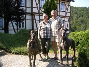 """Bild: Ferienwohnung """" Der Falkenhorst """" Alleinlage im Südharz oberhalb Bad Sachsa"""